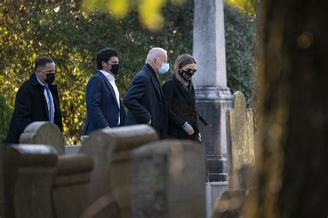 Joe Biden Starts Election Day With Visit to Son Beau's Grave