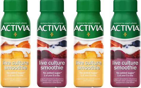 Danone introduces Activia Live Culture Smoothies range in
