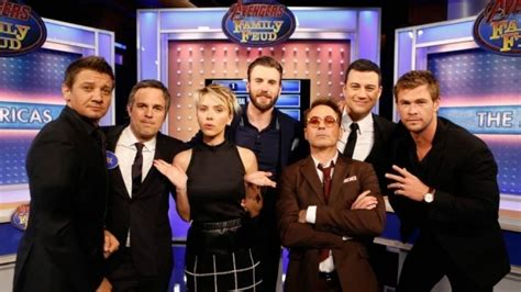 'Marvel's Avengers: Age of Ultron' Cast Plays 'Family Feud