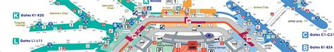 Printable Maps   Chicago O'Hare International Airport (ORD)