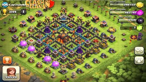 Clash of clans - townhall 10 defense strategy - YouTube