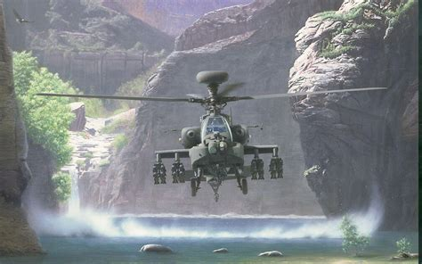 Apache Helicopter Wallpapers - Wallpaper Cave