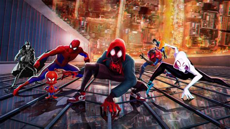 Spider-Man Into the Spider-Verse Wallpapers | HD