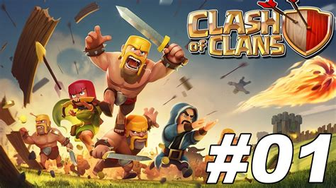 CLASH OF CLANS - Episode 1 - YouTube