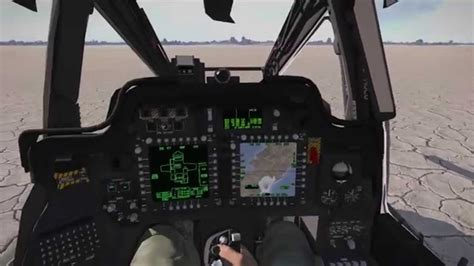 How To Display Map In Cockpit Screen - AH-64D Apache