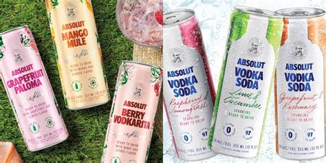 Absolut Is Selling Canned Vodka Drinks Just In Time For Summer