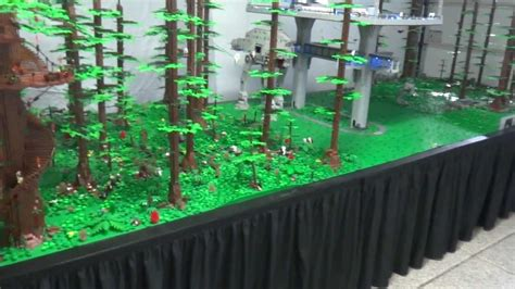 The Biggest, Most Awesome Lego Endor MOC of All Times