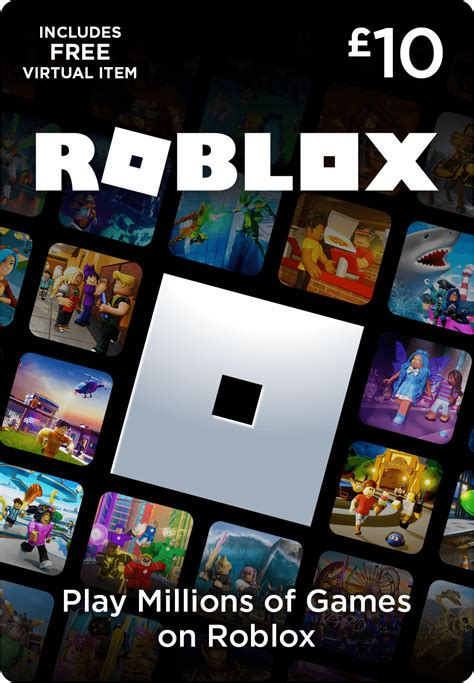 Roblox Gift Card £10 - Game – Startselect