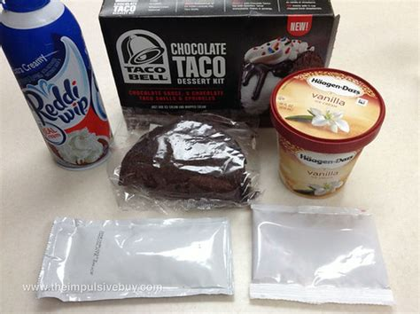 REVIEW: Taco Bell Chocolate Taco Dessert Kit - The