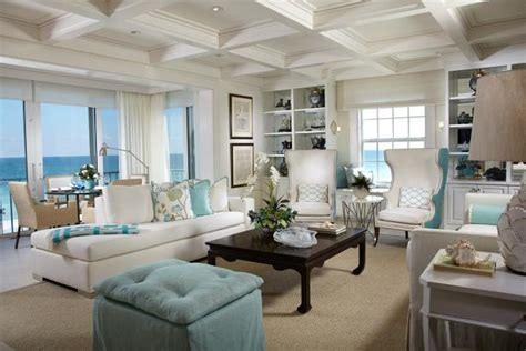 White Coastal Living Room With Ocean View | HGTV