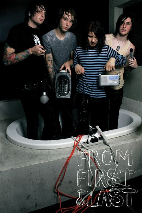 From First To Last posters - FFTL Bathtub poster PP30649