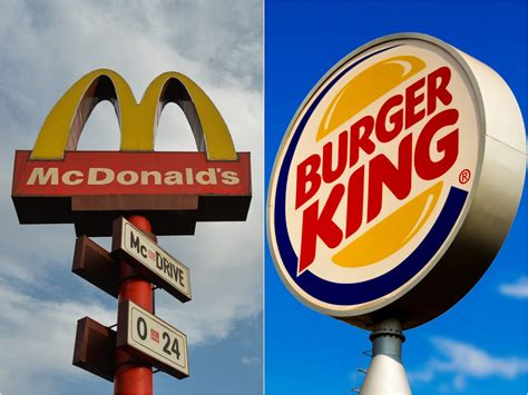 'Order from McDonald's': Burger King urges UK customers to